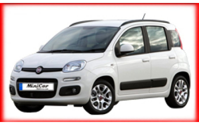 Minicar Rent a Car - Fiat Panda or similar