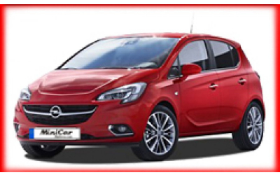 Minicar Rent a Car - Opel Corsa o. similar