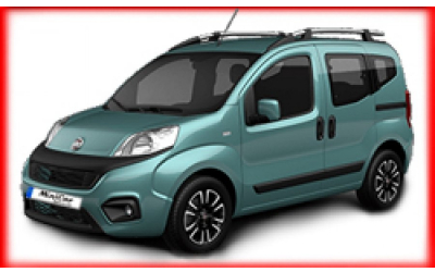 Minicar Rent a Car - Fiat Qubo or similar