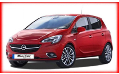 Minicar Rent a Car - Opel Corsa Automatic or similar